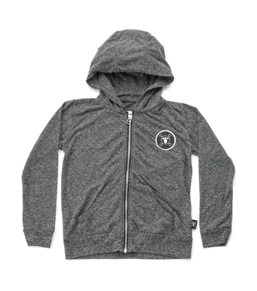 Nununu Solid Hoodie in Charcoal (Size 2/3 to 10/11)