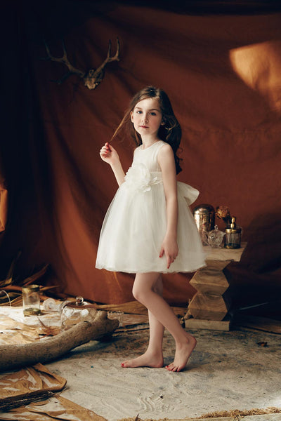 Love by Nellystella Natalie Dress in White - Ship Now!