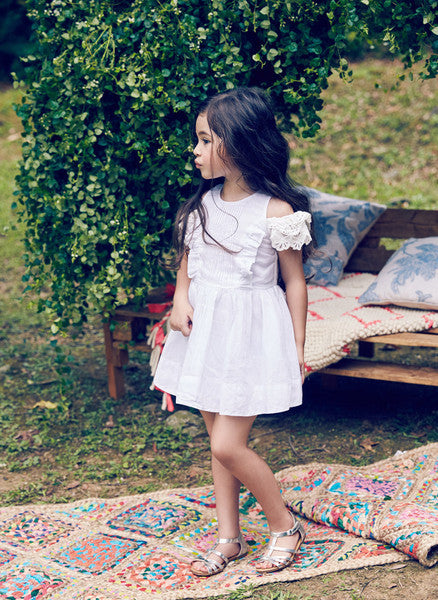 Nellystella Alexis Dress in White
