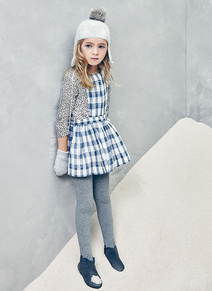 Nellystella Ella Dress in Checker (4Y)