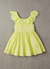 Nellystella Piper Dress in Lime Light Front