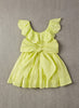 Nellystella Piper Dress in Lime Light Back