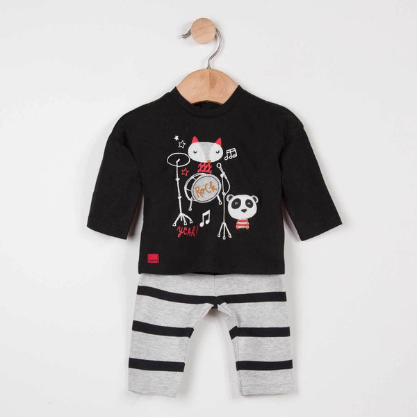 Catimini Baby Boy Graphic T-shirt + Leggings
