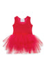Plum Tutu Dress - Rosie