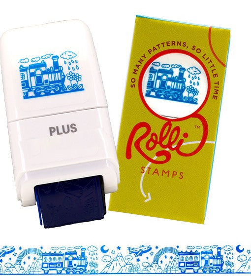 Rolli Stamps Train Travel