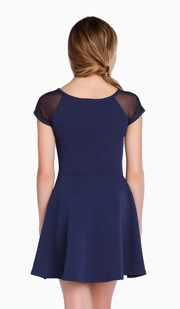 The Shea Dress in Navy