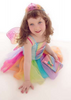 Rainbow Mermaid Dress Pink