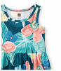 Tea Collection Coral Fern Tank Baby Dress