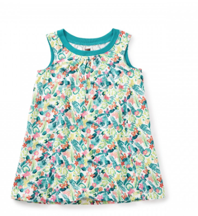 Tea Collection Daintree Trapeze Baby Dress (3-6m, 6-9m, 9-12m, 12-18m)