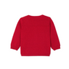 Petit Bateau: Baby Girl's Wool and Cotton, Red Cardigan (3m, 6m, 18m)