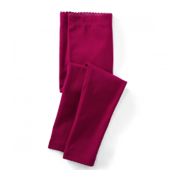 Tea Collection: Magenta Skinny Solid Leggings, Size 3-6m
