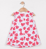Catimini Hearts Print Percale Dress (6m, 12m, 18m, 2T, 3T, 4T)