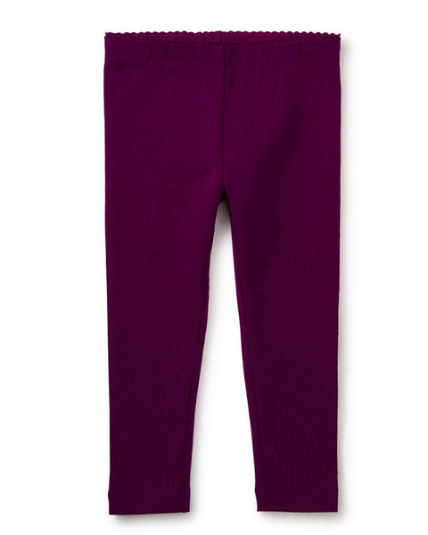 Tea Collection Skinny Solid Baby Leggings in Cosmic Berry (3-6m, 12-18m)