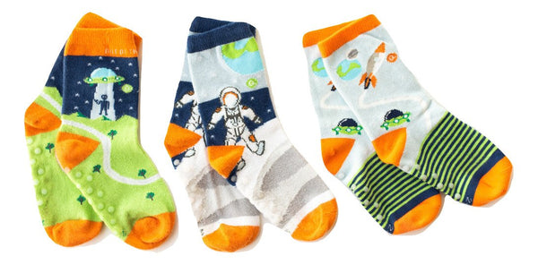Organic Cotton Socks (3 Pair Set)  - Out of This World