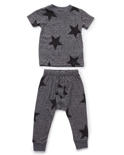 Nununu Star Loungewear Charcoal