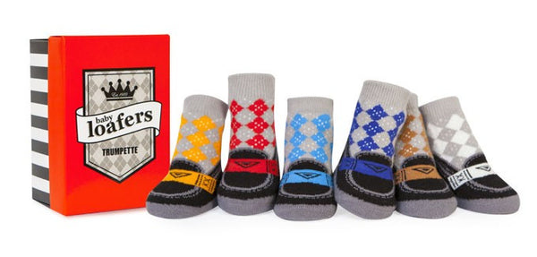 Trumpette Baby Loafers Baby Socks Gift Set (Baby Boy)
