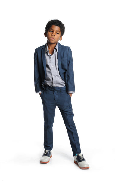 Appaman Boy's Suit in Navy (5Y)