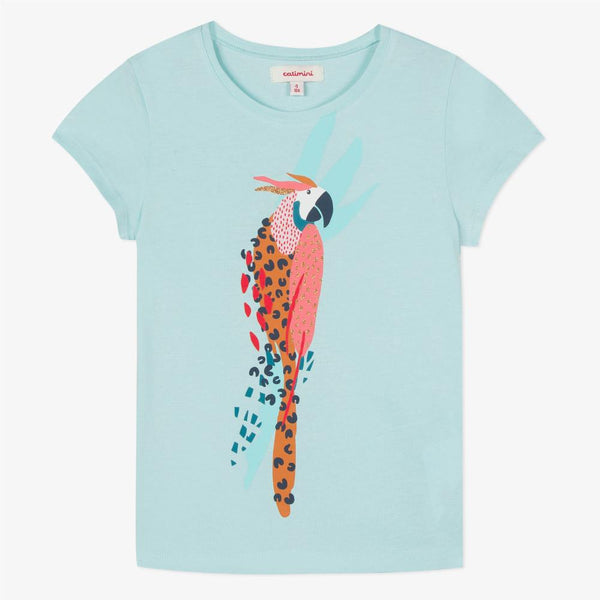 Catimini T-shirt with Parrot Design (6Y)