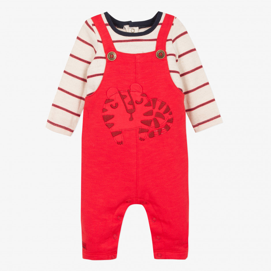 Catimini Baby Boy 2-in1 Jumpsuit in Red