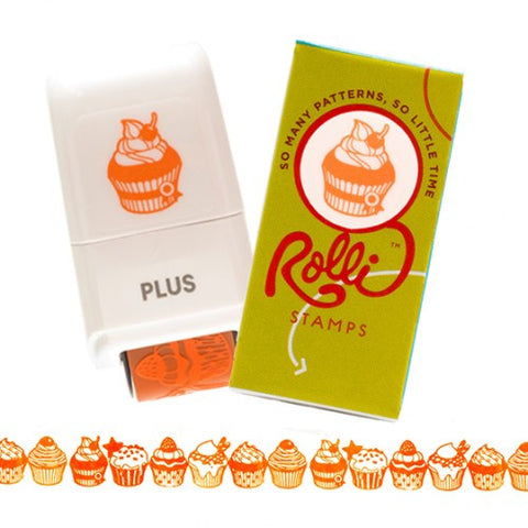 Rolli Stamps Crazy for Cupcake