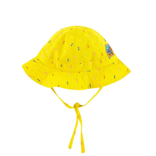 Catimini Baby Girl's Yellow Embroidered Hat - NEW*
