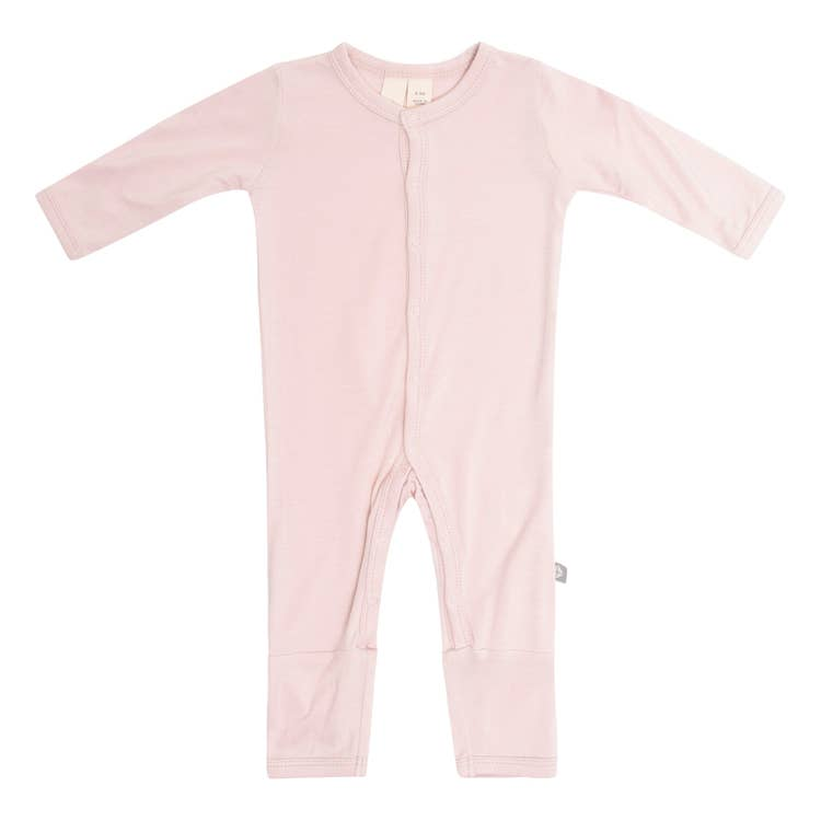 Kyte Baby Solid Romper in Blush