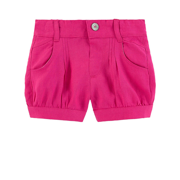 Catimini Baby Girl Linen Shorts
