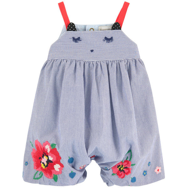 Catimini Jumpsuit with Embroidery (6m)