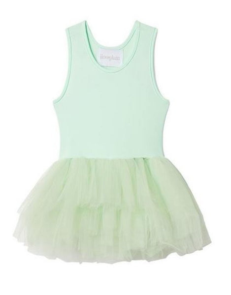 Plum Tutu Dress - Bobbi Green (Size 8)