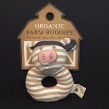 Farm Buddies Pork Chop Rattle
