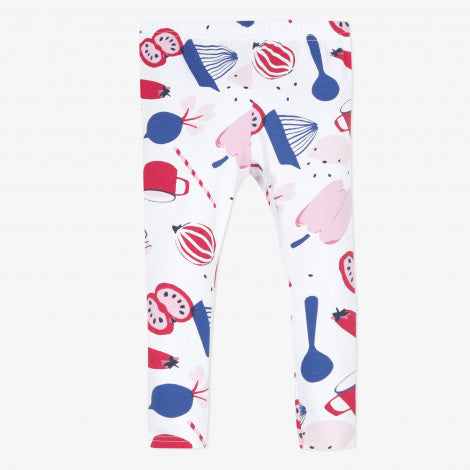 Catimini Baby Girl's Chef Prints Stretchy Leggings - NEW*