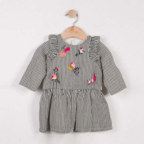 Catimini Madmoizelle Embroidered Dress (6m, 9m, 12m)