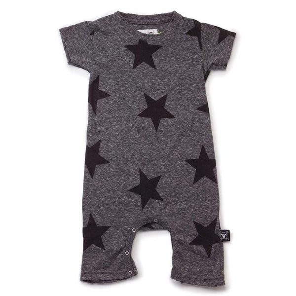 Nununu Star Playsuit(0-6m)
