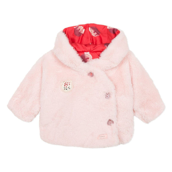 Catimini Baby Girl Reversible Cozy Jacket