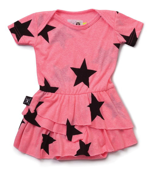 Nununu Star Onesie Skirt