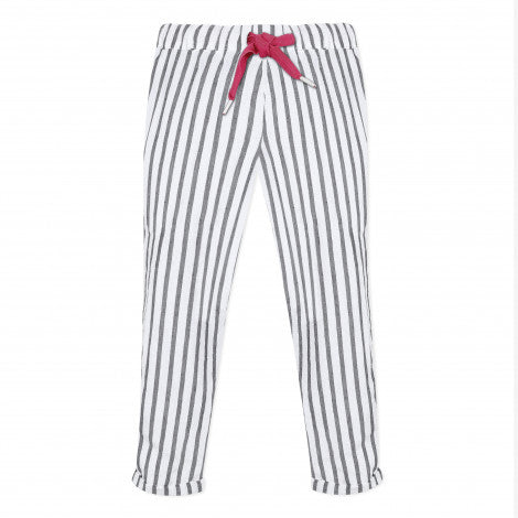 Catimini Girl's Striped Fluid Pants - NEW*