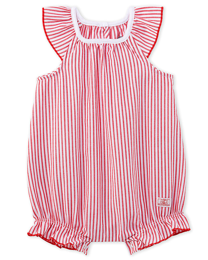 Girl's Bloomer Onepiece with Frills