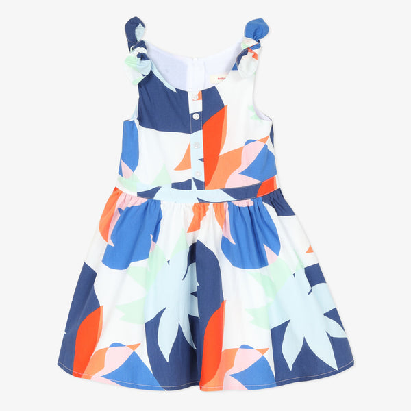 Catimini Girl's Colorful Floral Print Dress - NEW*