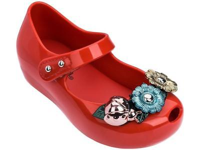 Mini Melissa Ultragirl X BB in Red (Size 7, 8)