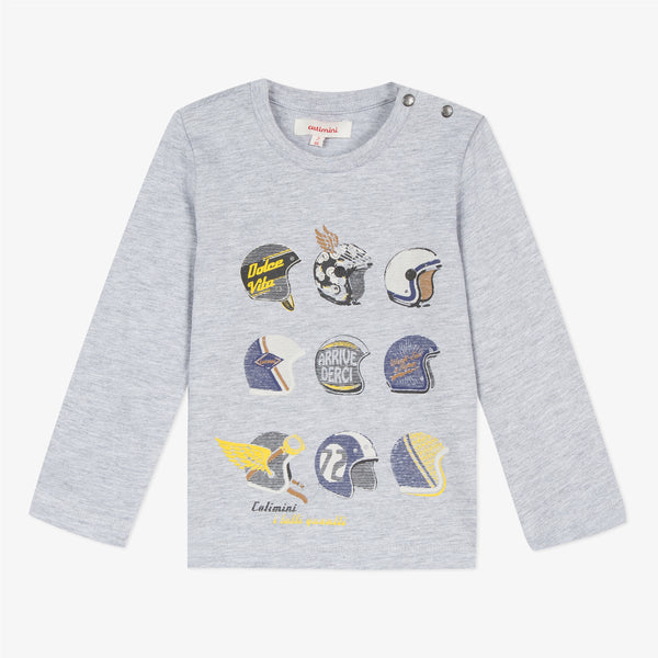Catimini Boy's T-shirt with Retro Design