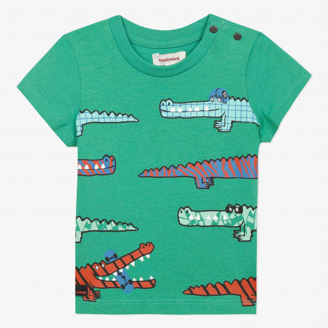 Catimini Baby Boy's Green Alligator T-shirt - NEW*