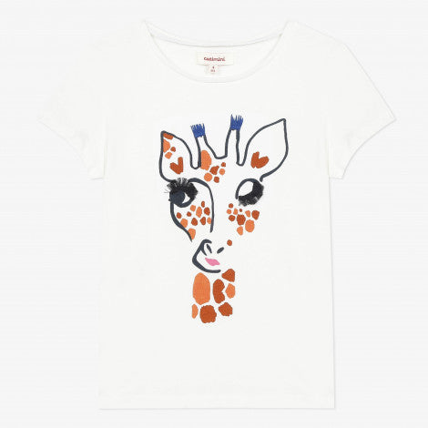 Catimini  Giraffe Short Sleeve T-shirt - NEW*