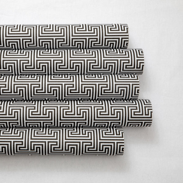 Wrapping Paper Black Geometric
