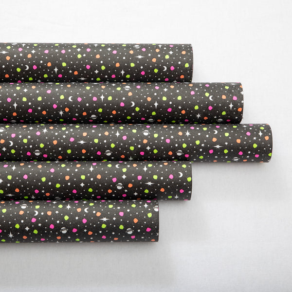 Wrapping Paper Fluoro Space