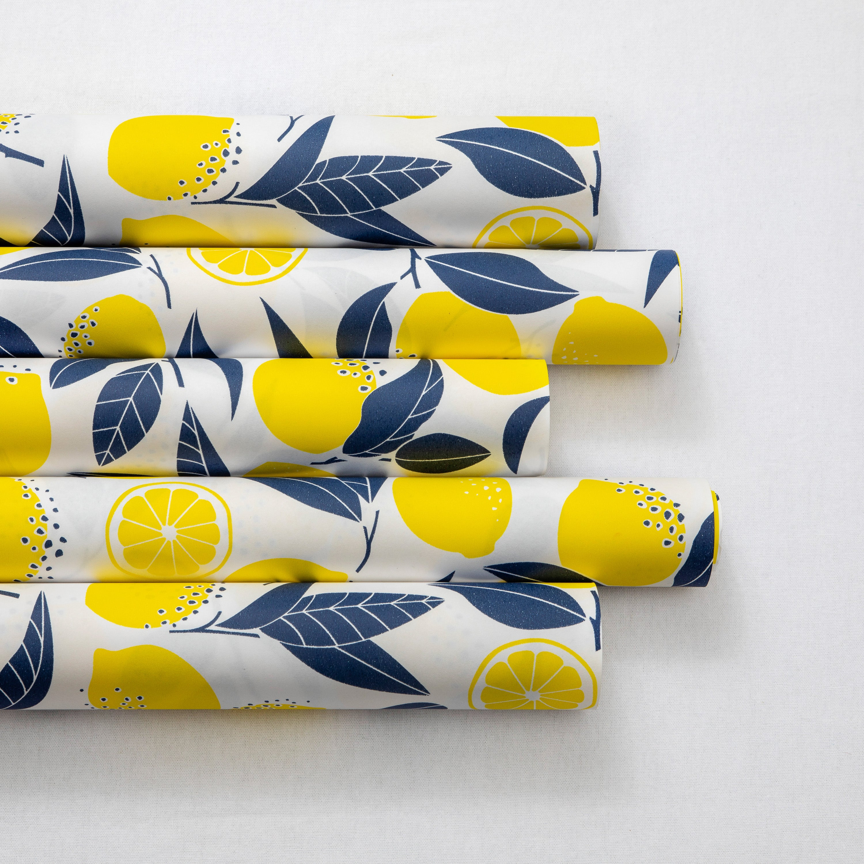 Wrapping Paper Lemons