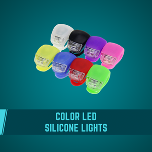 Color LED Silicone Light