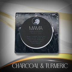 Charcoal & Turmeric (face & body soap)