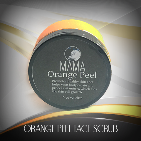 Orange Peel Face Scrub
