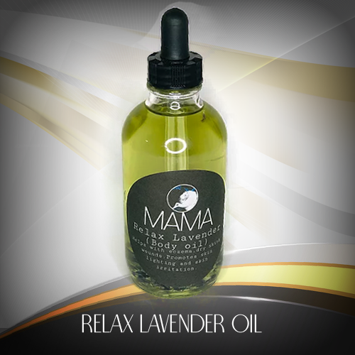 relax lavender (body oil)