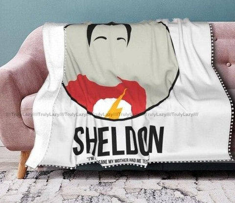 Big Bang Theory coperta - Vitafacile shop
